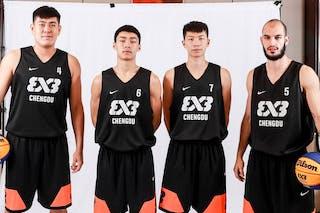 7 Yi Gu (CHN) - 6 Haotian Wang (CHN) - 5 Filip Kaludjerovic (CHN) - 4 Qiarui Chen (CHN)