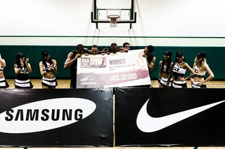 Final day of the 2012 FIBA 3x3 World Tour Finals in Miami, USA