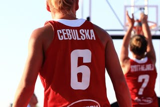 6 Martyna Cebulska (POL) - 7 Agnieszka Szott-hejmej (POL)