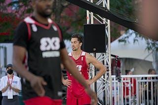 FIBA 3x3, World Tour 2021, Montréal, Canada, Esplanade Place des Arts MEN Amsterdam vs. Princeton