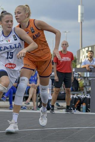 3 Loyce Bettonvil (NED) - 15 Clara Rosini (ITA)