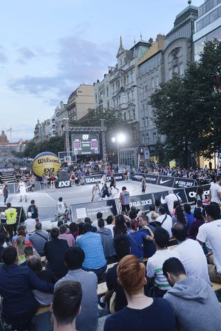 Piran v Vilnius, 2016 WT Prague, Pool, 6 August 2016