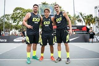 Team Santos, FIBA 3x3 World Tour Rio de Janeiro 2014, Day 2, 28. September.
