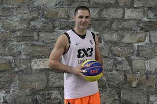 #6 Hercegovac Jasmin, Team Ljubljana, FIBA 3x3 World Tour Lausanne 2014, 29-30 August.