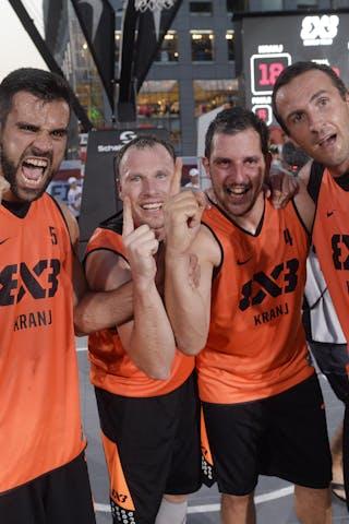 6 Jure EržEn (SLO) - 5 Mensud Julević (SLO) - 4 Jaka Hladnik (SLO) - 3 Boris Jersin (SLO) - Kranj v Kolobrzeg, 2015 WT Prague, Final, 9 August 2015