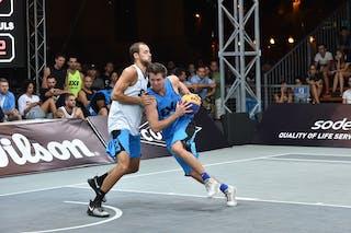 5 Dániel Koma (HUN) - 5 Jesper Jobse (NED) - Amsterdam v Debrecen, 2016 WT Debrecen, Pool, 7 September 2016