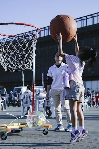 Entertainment, kids, FIBA 3x3 World Tour Final Tokyo 2014, 11-12 October.