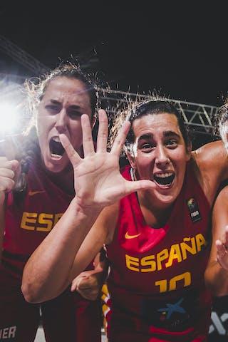 14 Eliana Soriano Gutierrez (ESP) - 11 Vega Gimeno (ESP) - 10 Aitana Cuevas (ESP) - 1 Núria Martínez (ESP)