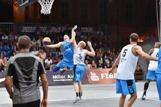 4 Máté Bihari (HUN) - 3 Joey Schelvis (NED) - Amsterdam v Debrecen, 2016 WT Debrecen, Pool, 7 September 2016