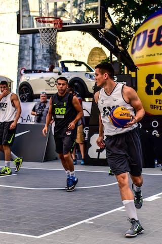 3 Stefan Stojačić (SRB) - 2 Barhan Topuz (TUR) - 3 Yunus Yurttagul (TUR) - Liman v Manisa, 2016 WT Lausanne, Pool, 26 August 2016