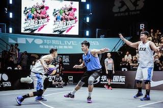 3 Zhang Ziyi (CHN) - 5 Ding Chen (CHN) - 3 Zhiyang Zhang (CHN)