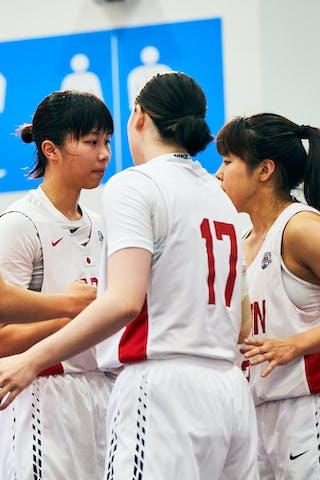 23 Mai Yamamoto (JPN) - 18 Sayako Ozaki (JPN) - 17 Nanami Seki (JPN) - 16 Todo Nanako (JPN) - Game3_Japan U23 vs Netherlands