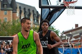 5 Shane Osayande (CAN) - 3 Mihailo Vasic (SRB)