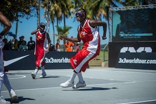 Dancer  2013 FIBA 3x3 World Tour Rio de Janeiro