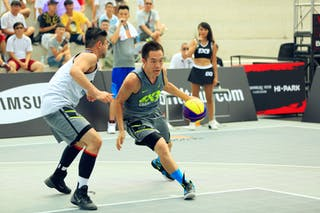 #4 Liang Yu, Team Changping, 2014 World Tour Beijing, 3x3game, 03 August, Day 2.