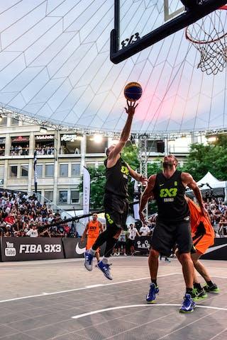 6 Nolan Brudehl (CAN) - 3 Boris Jersin (SLO) - 7 Jure Eržen (SLO) - Saskatoon v Kranj, 2016 WT Lausanne, Semi final, 27 August 2016