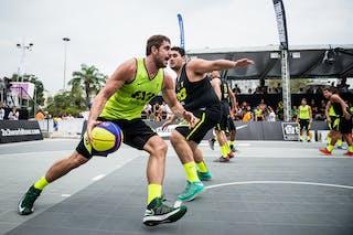 #7 Vieira Romulo, team Fortaleza, FIBA 3x3 World Tour Rio de Janeiro 2014, Day 2, 28. September.