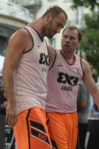 Team Kranj, FIBA 3x3 World Tour Lausanne 2014, day 1, 29. August.