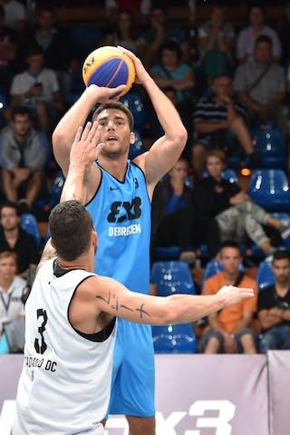 3 Ádám Kovács (HUN) - São Paulo DC v Debrecen, 2016 WT Debrecen, Pool, 7 September 2016