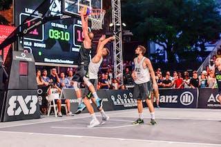 4 Charles Bronchard (FRA) - 4 Marko Brankovic (SRB) - 6 Stefan Kojic (SRB) - Liman v Paris, 2016 WT Lausanne, Semi final, 27 August 2016