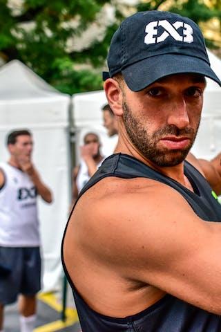 5 Dominique Gentil (FRA) - 3 Anthony Christophe (FRA) - Lausanne v Paris, 2016 WT Lausanne, Last 8, 27 August 2016