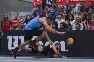 7 Fernando Coloneze (BRA) - 5 Felipe Camargo (BRA)