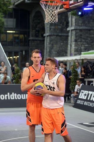 #4 Rass Marc, Team Dusseldorf, FIBA 3x3 World Tour Lausanne 2014, day 1, 29. August.