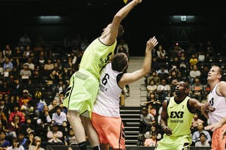 #5 Lieffers Michael, Team Saskatoon, dunking, FIBA 3x3 World Tour Final Tokyo 2014, 11-12 October.