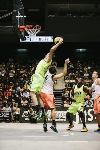 #5 Lieffers Michael, Team Saskatoon, dunking, FIBA 3x3 World Tour Final Tokyo 2014, 11-12 October.