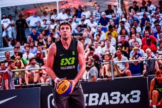 6 Sergio De La Fuente (ESP) - Lausanne v Valladolid, 2016 WT Lausanne, Pool, 26 August 2016