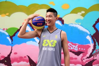 #5 Ku Granger, Team New Taipei, FIBA 3x3 World Tour Beijing 2014, 2-3 August.