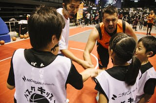 #5 Santana Angel, Team Bucharest, entertainment, kids, FIBA 3x3 World Tour Final Tokyo 2014, 11-12 October.