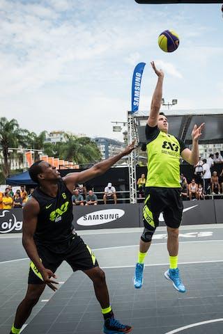 #6 Bracco Gustavo, Team Sao Paulo DC, FIBA 3x3 World Tour Rio de Janeiro 2014, Day 2, 28. September.