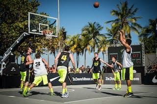 #6 Fortaleza(Brazil) SP Sorriso (Brazil)2013 FIBA 3x3 World Tour Rio de Janeiro