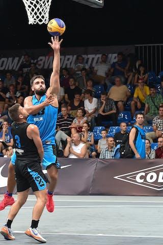 6 Yassin Mahfouz (GER) - Belgrade v Berlin, 2016 WT Debrecen, Pool, 7 September 2016