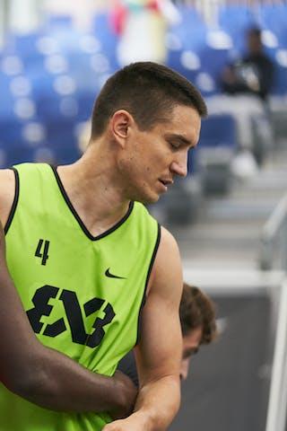 4 Stefan Stojacic (SRB) - 5 Dominique Gentil (FRA)