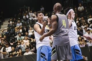 #5 Ramadhani Fandi Andika, Team Jakarta, FIBA 3x3 World Tour Final Tokyo 2014, 11-12 October.