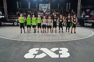 7 Maksim Kovacevic (SRB) - 6 Stefan Kojic (SRB) - 5 Aleksandar Ratkov (SRB) - 3 Mihailo Vasic (SRB) - 7 Artūrs Strēlnieks (LAT) - 6 Edgars Krumins (LAT) - 5 Agnis čavars (LAT) - 3 Nauris Miezis (LAT)
