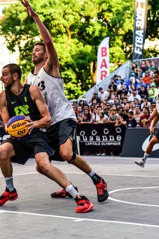 4 Derrick Lang (SUI) - 5 Yino Martinez (SUI) - 6 Oliver Vogt (SUI) - 6 Maxime Courby (FRA) - Lausanne v Paris, 2016 WT Lausanne, Last 8, 27 August 2016