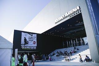 Xebio Arena view from outside, Sendai, FIBA 3x3 World Tour Final Tokyo 2014, 11-12 October.