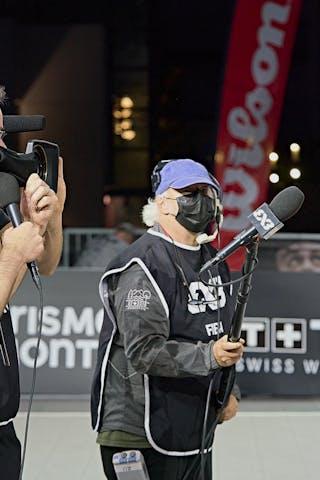 11 Vega Gimeno (ESP) - FIBA 3x3, World Tour 2021, Mtl, Can, Esplanade de la Place des Arts. Women final Spain vs Austria