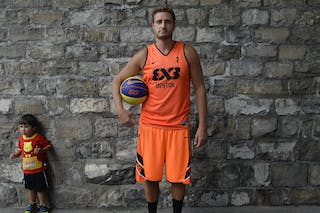 #7 Bardet Olivier, Team Menton, FIBA 3x3 World Tour Lausanne 2014, 29-30 August.