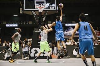 #7 Iwashita Tatsuro, Team Kobe, FIBA 3x3 World Tour Final Tokyo 2014, 11-12 October.