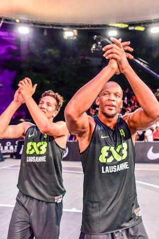 5 Yino Martinez (SUI) - 4 Derrick Lang (SUI) - 3 Marco Lehmann (SUI) - Zemun v Lausanne, 2016 WT Lausanne, Pool, 26 August 2016