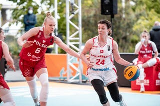 6 Marzena Marciniak (POL) - 24 Evita Herminjard (SUI)