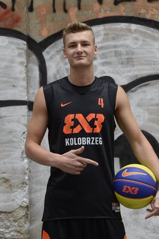 Kamil Rduch. Team Kolobrzeg. 2014 World Tour Prague.