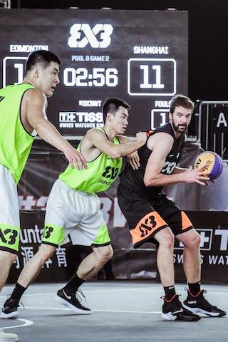 3 Steve Sir (CAN) - 7 Wang Xuefeng (CHN)