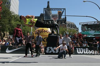 FIBA 3x3 World Tour Saskatoon 2017 entertainment