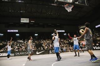 #5 Wang Cong, Team Wukesong, FIBA 3x3 World Tour Final Tokyo 2014, 11-12 October.