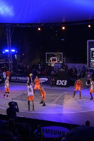 Court view, FIBA 3x3 World Tour Lausanne 2014, 29-30 August.